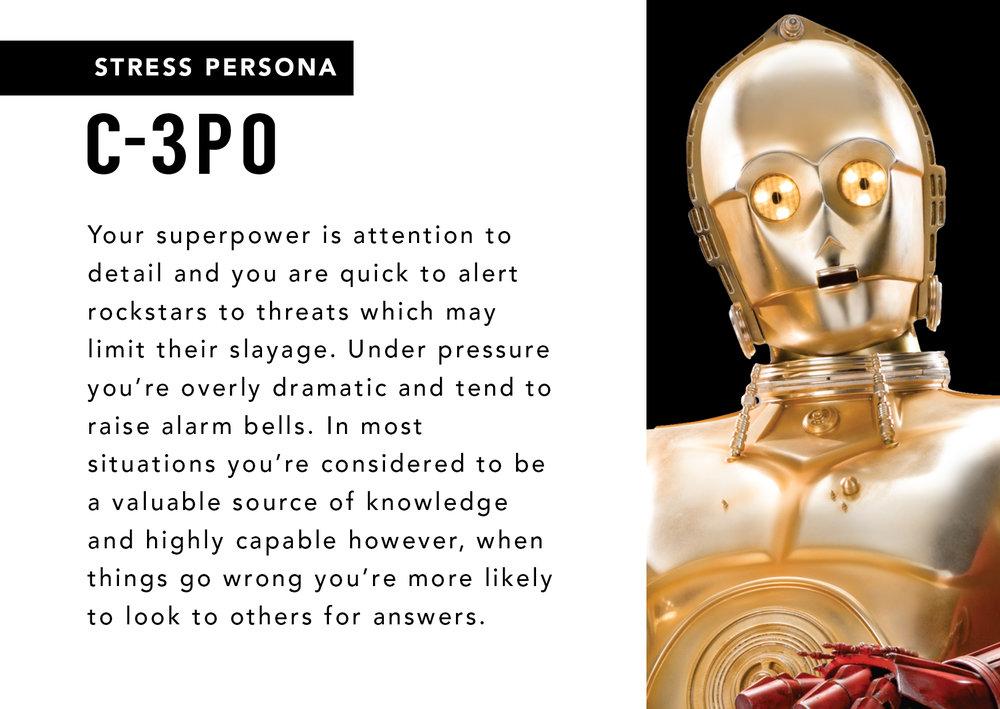 C3PO Stress Persona