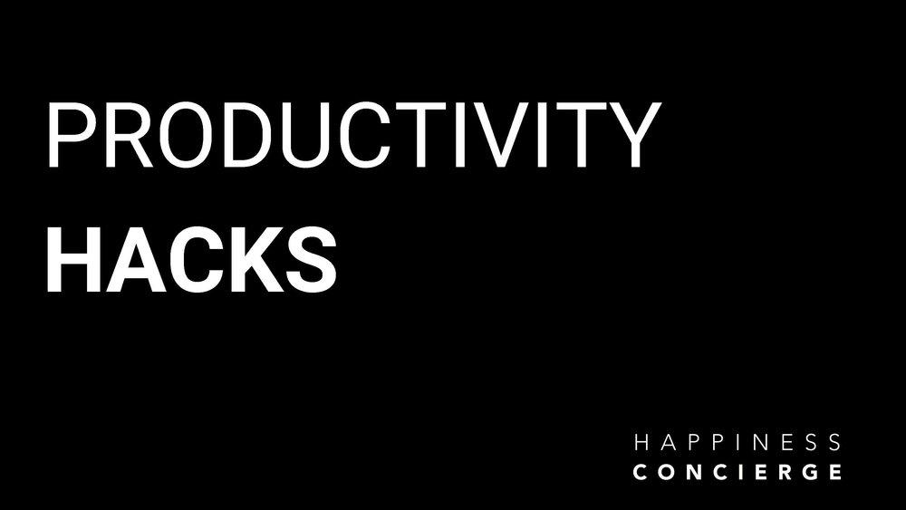 Productivity Hacks Melbourne