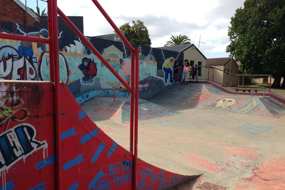 Fig 11: Skate parks in Sheffield in Tasmania