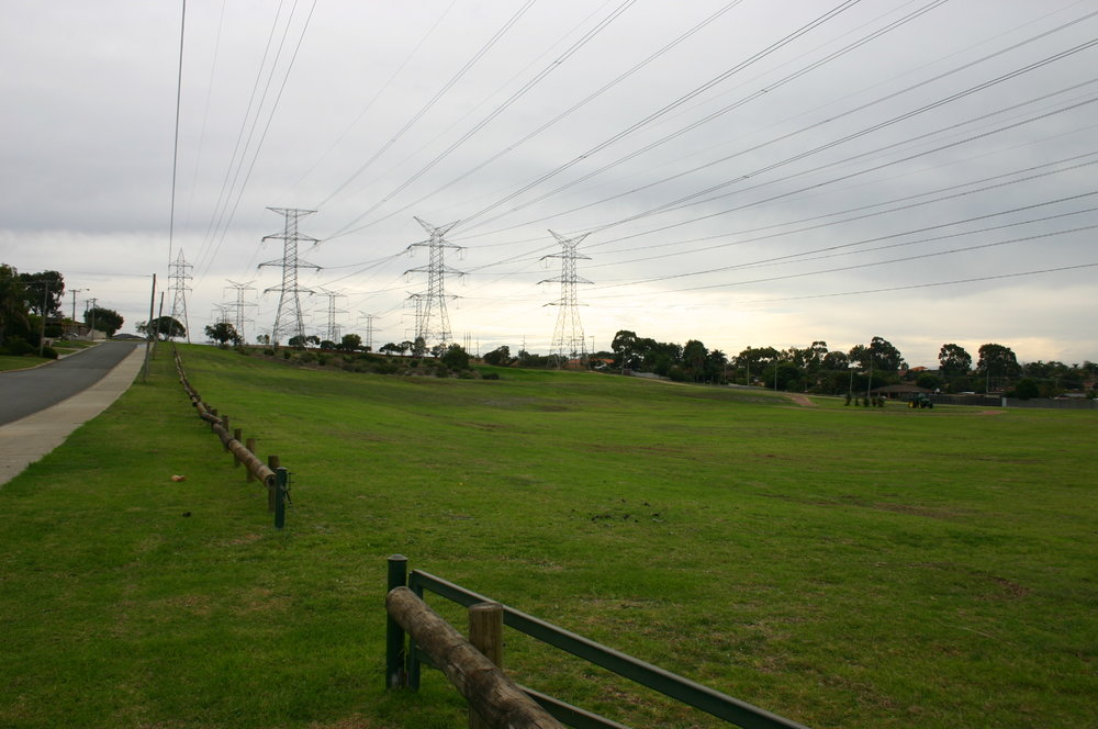 Fig 23: Powerline easement