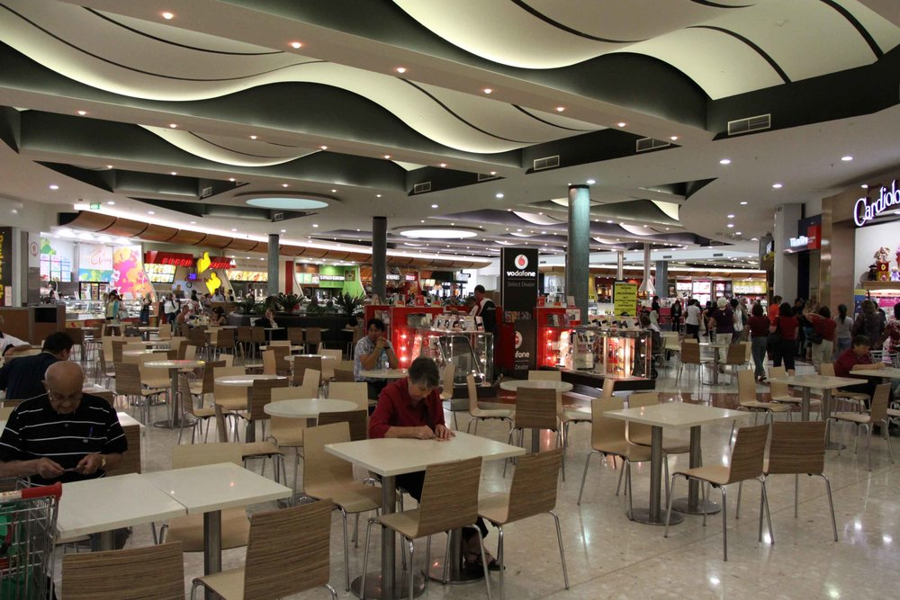 Fig 1: A food hall