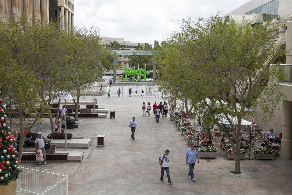 Fig 3: Forrest Place – view from southern end looking north