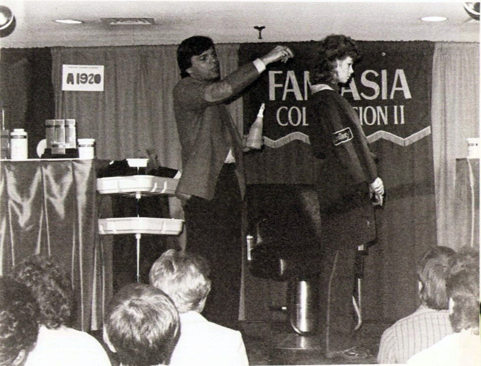 Dennis On Stage with Fanatasia