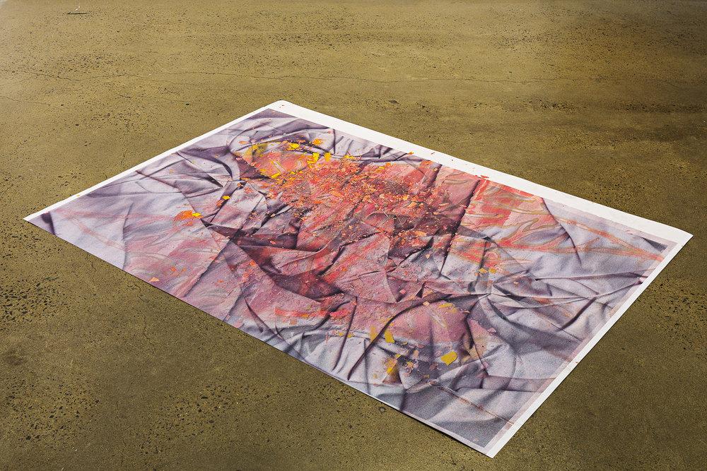 Crumb, digital print on paper, 99 x 136cm  Photo: Document Photography   Enquire