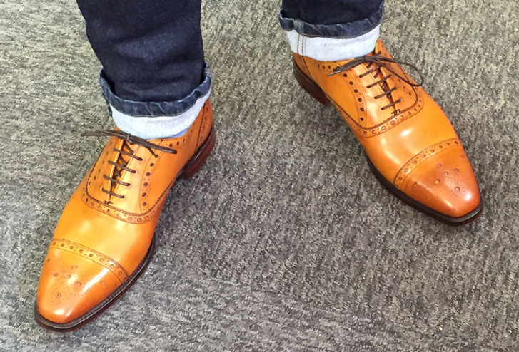 9ab3adeb19f72 A visit to the Joseph Cheaney factory shop — Northampton shoes