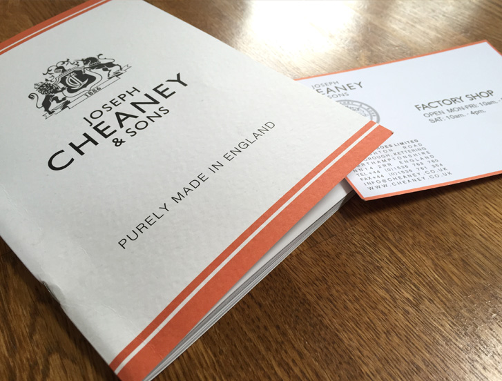 Cheaney Shoes Factory Shop Northamptonshire