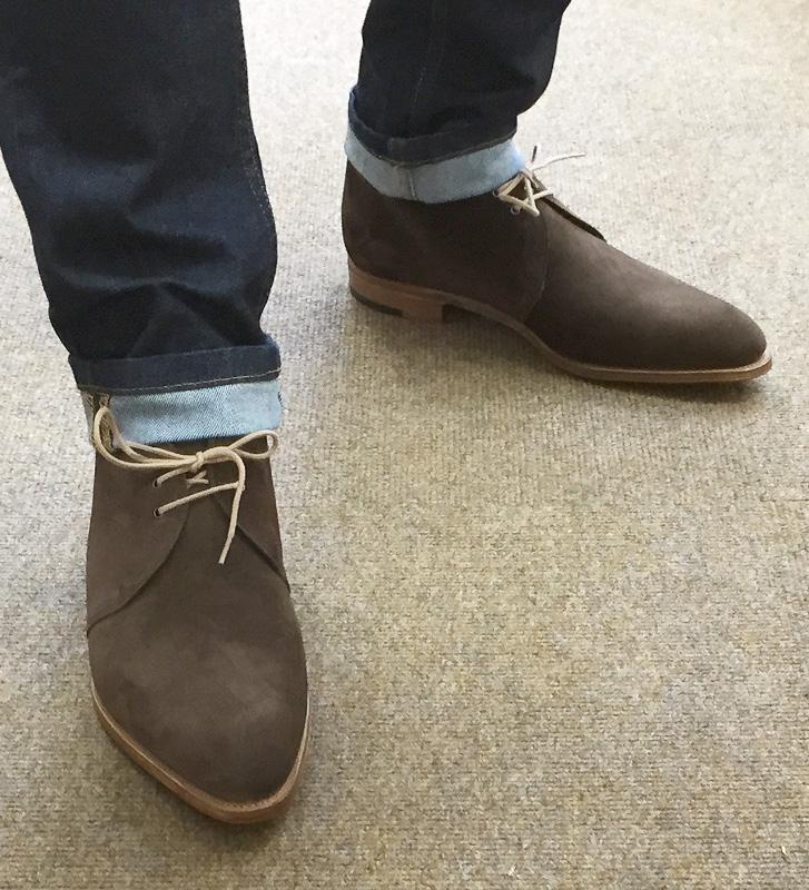 English Bespoke Mens Shoes