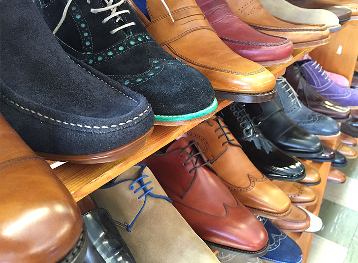 A visit to the Barker shoe factory outlet shop ...