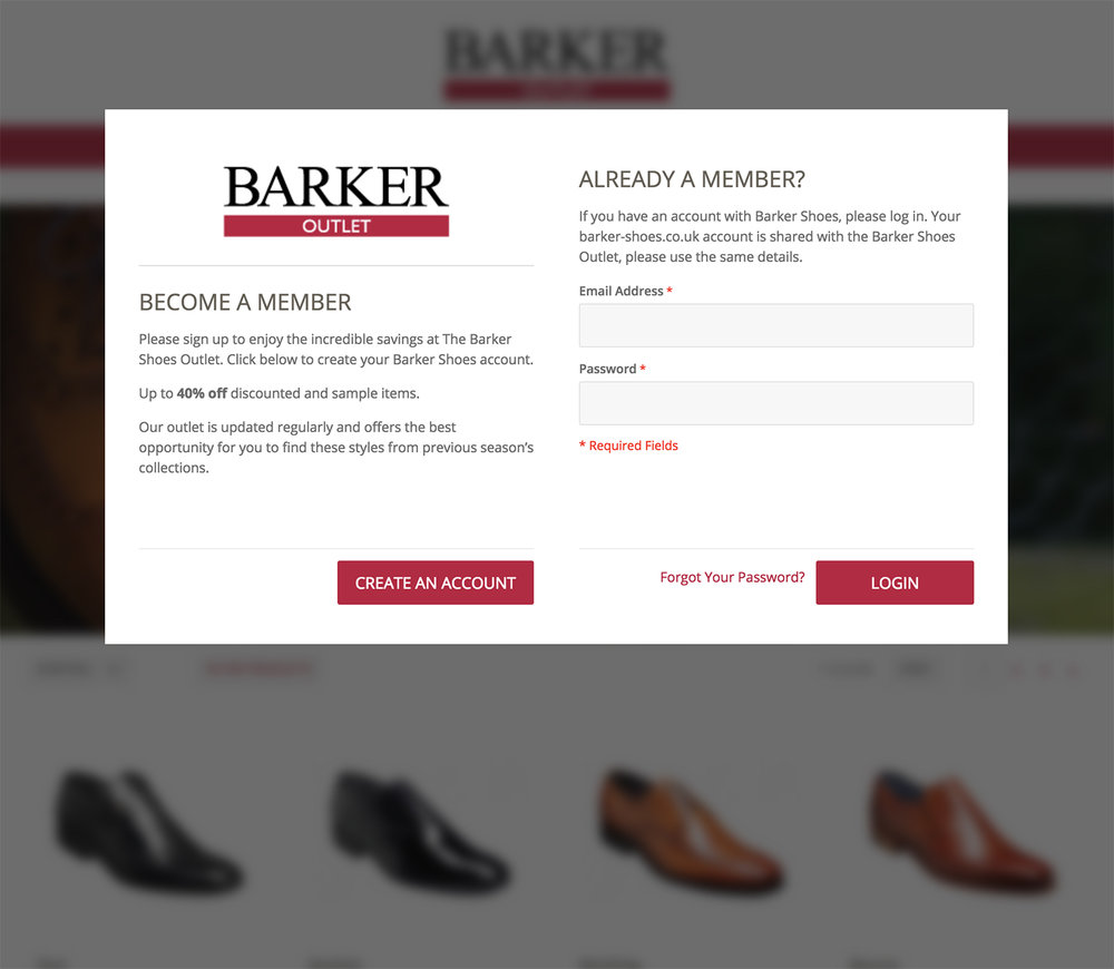 Barker Shoes outlet store members.jpg