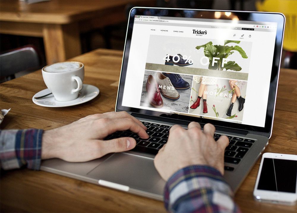 Trickers outlet store laptop.jpg