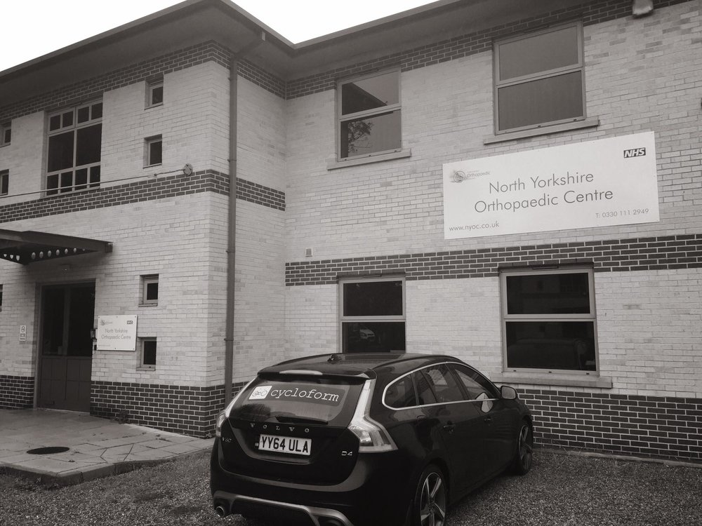 Cycloform Physiotherapy @ the North Yorkshire Orthopaedic Centre