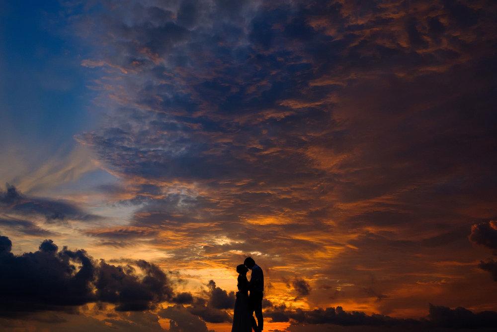最後はマジックアワーで美しいシルエット写真も撮ることができます