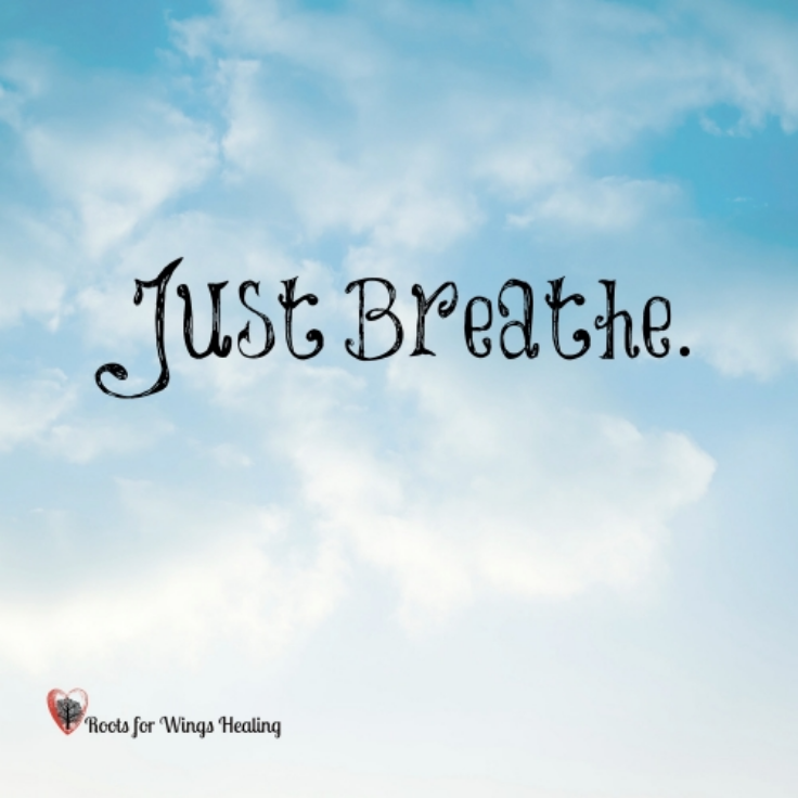 Use your breath to lead you to what to release next.
