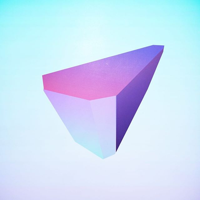 — Minimal Stone — #photoshop #cintiq #minimal #stone #art #daily #soft #gradient