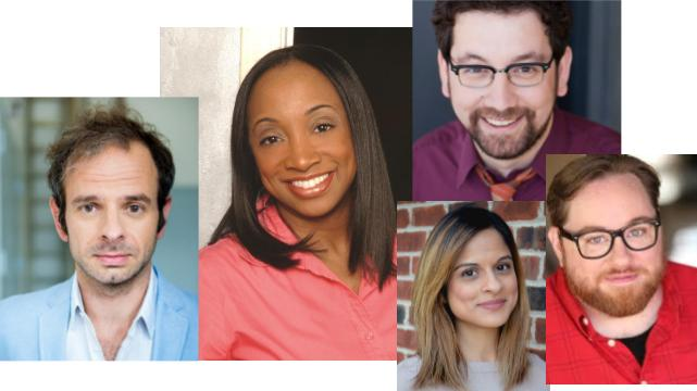David Bendena, Casaundra Freeman, Tiffany Baxi, Joe Zarrow, Aral Gribble