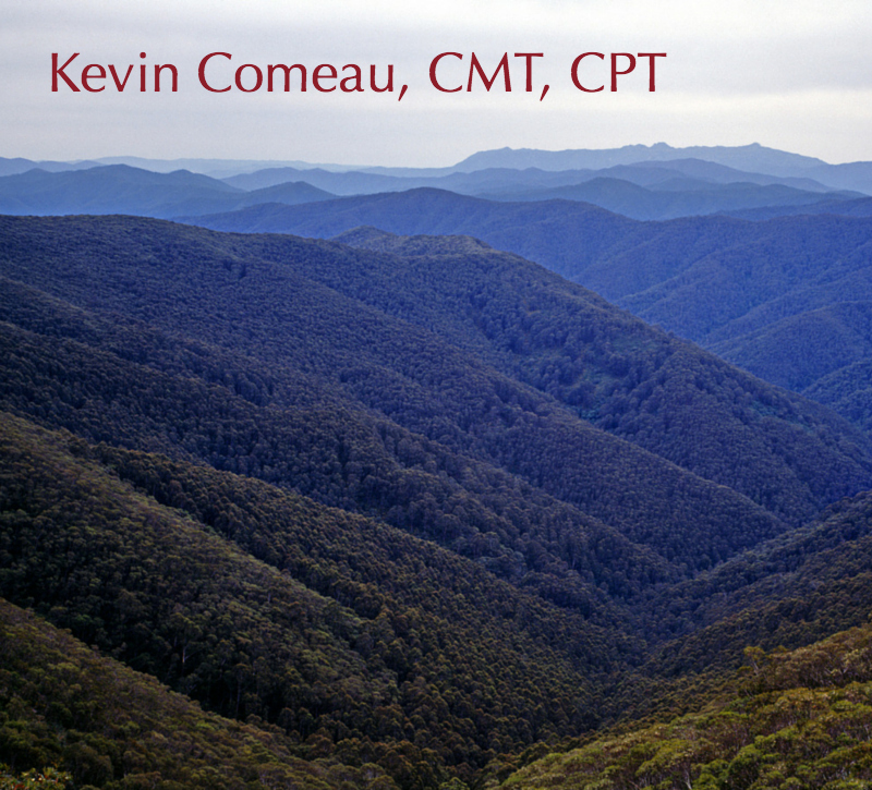 Kevin Comeau owns & operates Vermont Massage Therapy, a multi-service clinic offering deep tissue,  myofacial, & sports massage, as well as instruction & personal training.