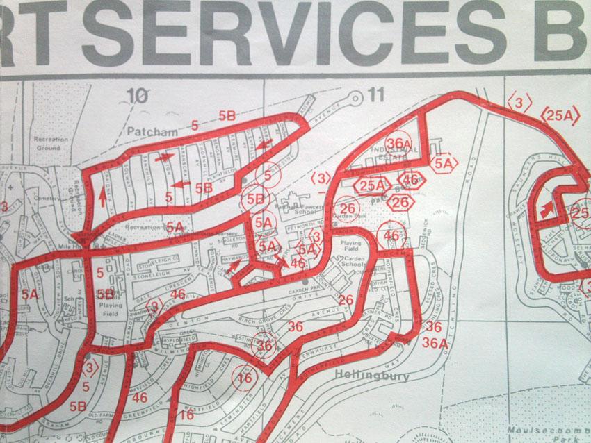 Bus Routes 3