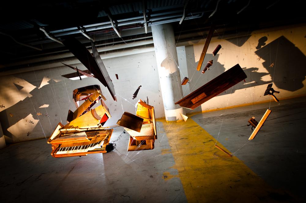 Exploding Piano