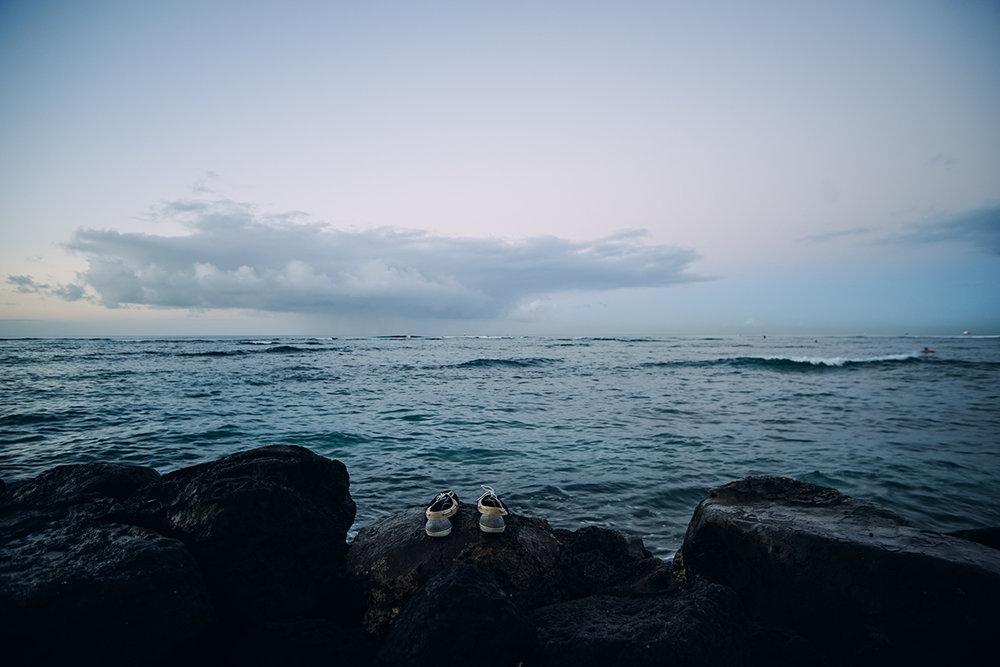 Alone on Waikiki