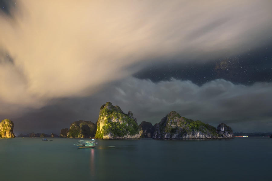 The Stars over Halong Bay