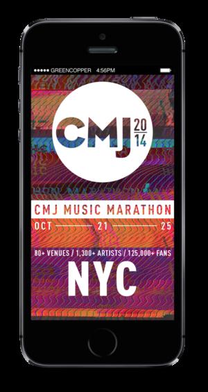 CMJ - App Design