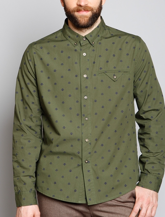 BK Bridge Button Up