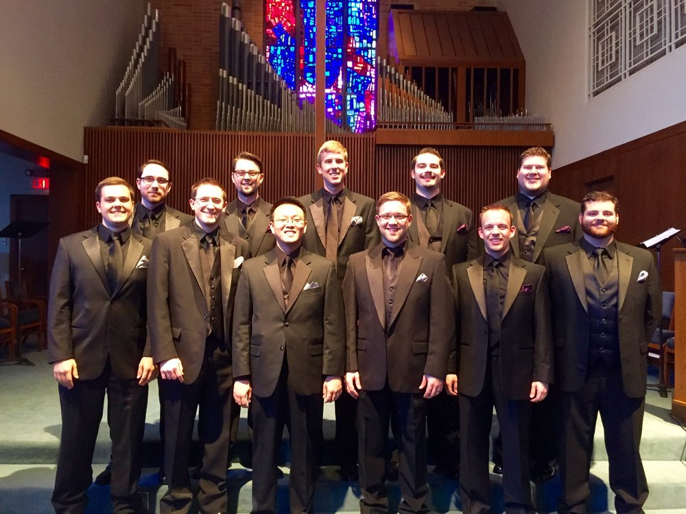 Photo after the first official Houston Men's Choir concert in May of 2015.