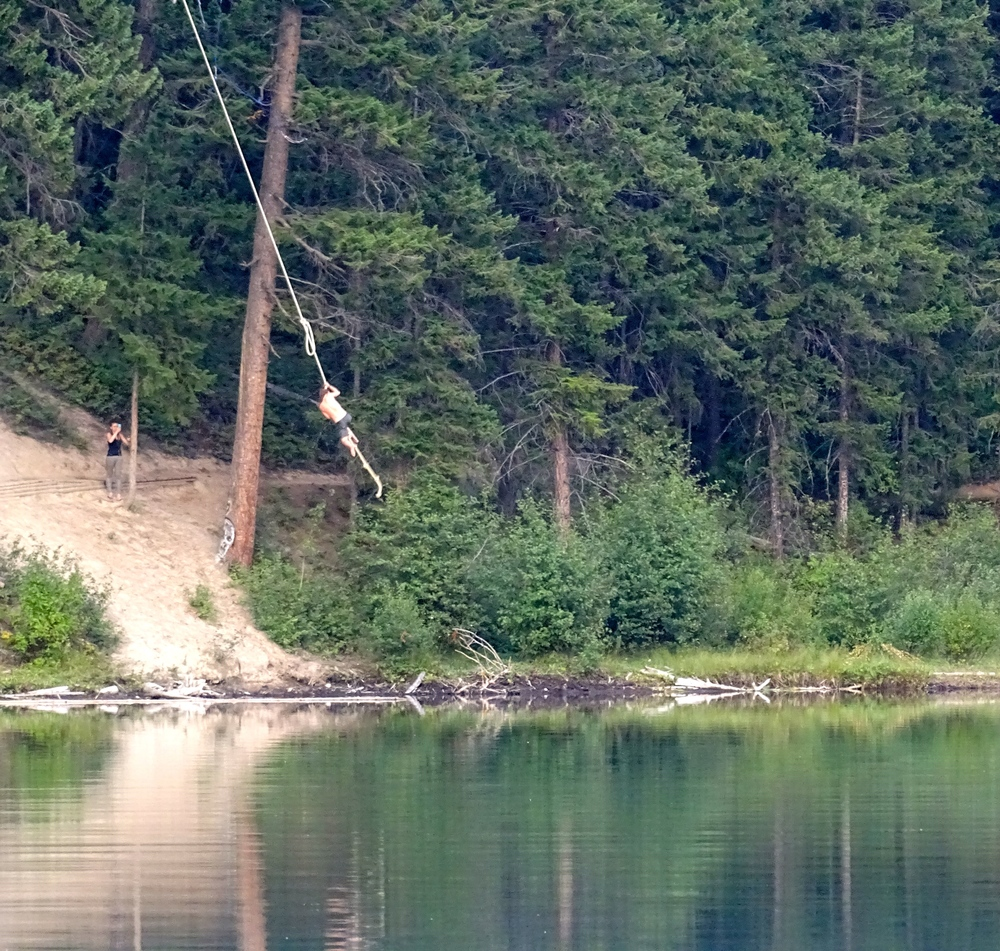 Epic Rope Swing!