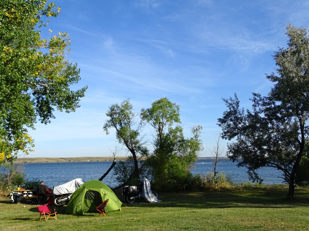 Camping at Nelson Reservoir (for free!)