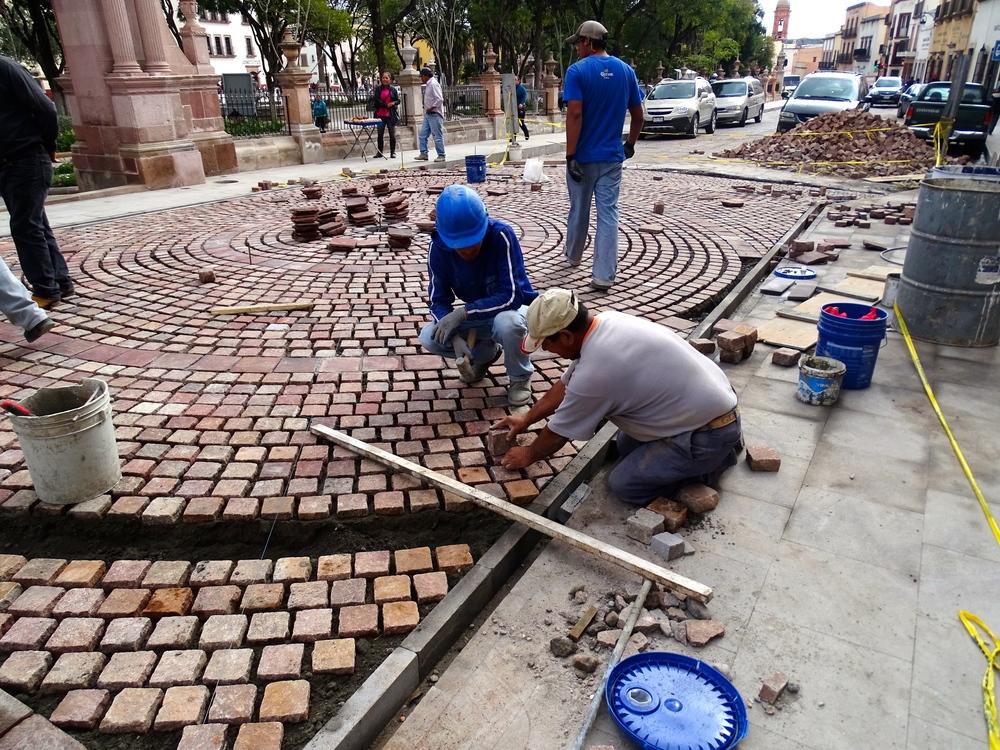Amazing brick work here!
