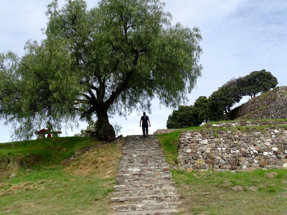 Xochitecatl Ruins near Tlaxcala