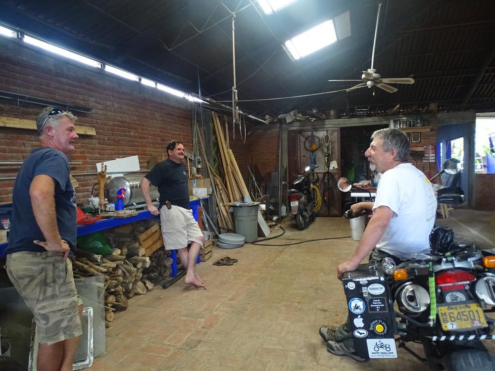 A kick-ass workshop/garage/design studio/fix anything place!