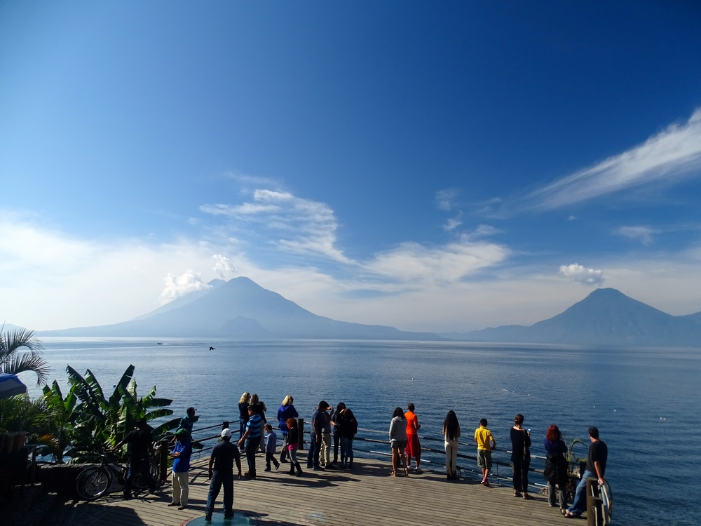 Lake Atitlan in Guatemala