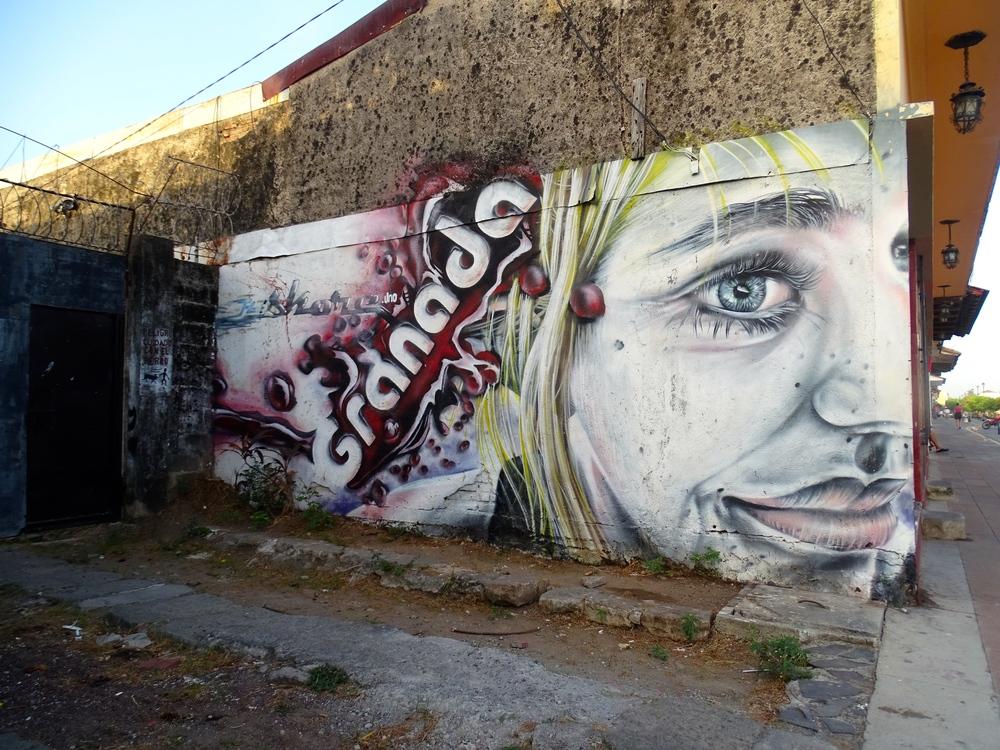 Granada, Nicaragua street art.