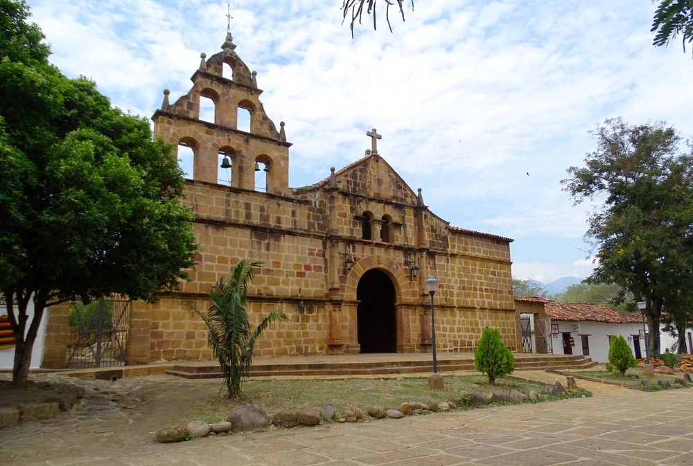 By coincidence, we both ended up in Guane at the same time! This is the church in Guane.