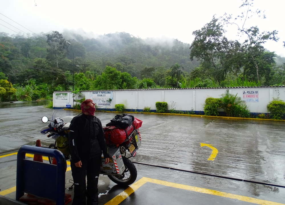 Macas is deep in the Amazon Region with plenty of rain.