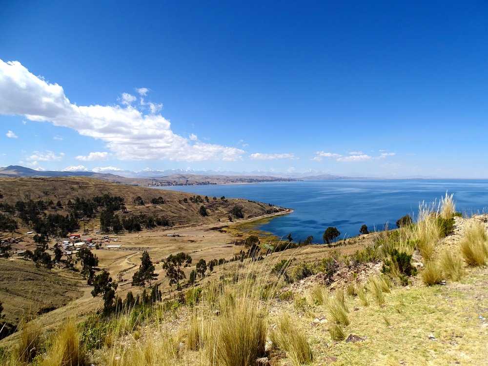 And so onward we went along the far shore of Titicaca, bound for La Paz, though lunch was my more immediate interest.