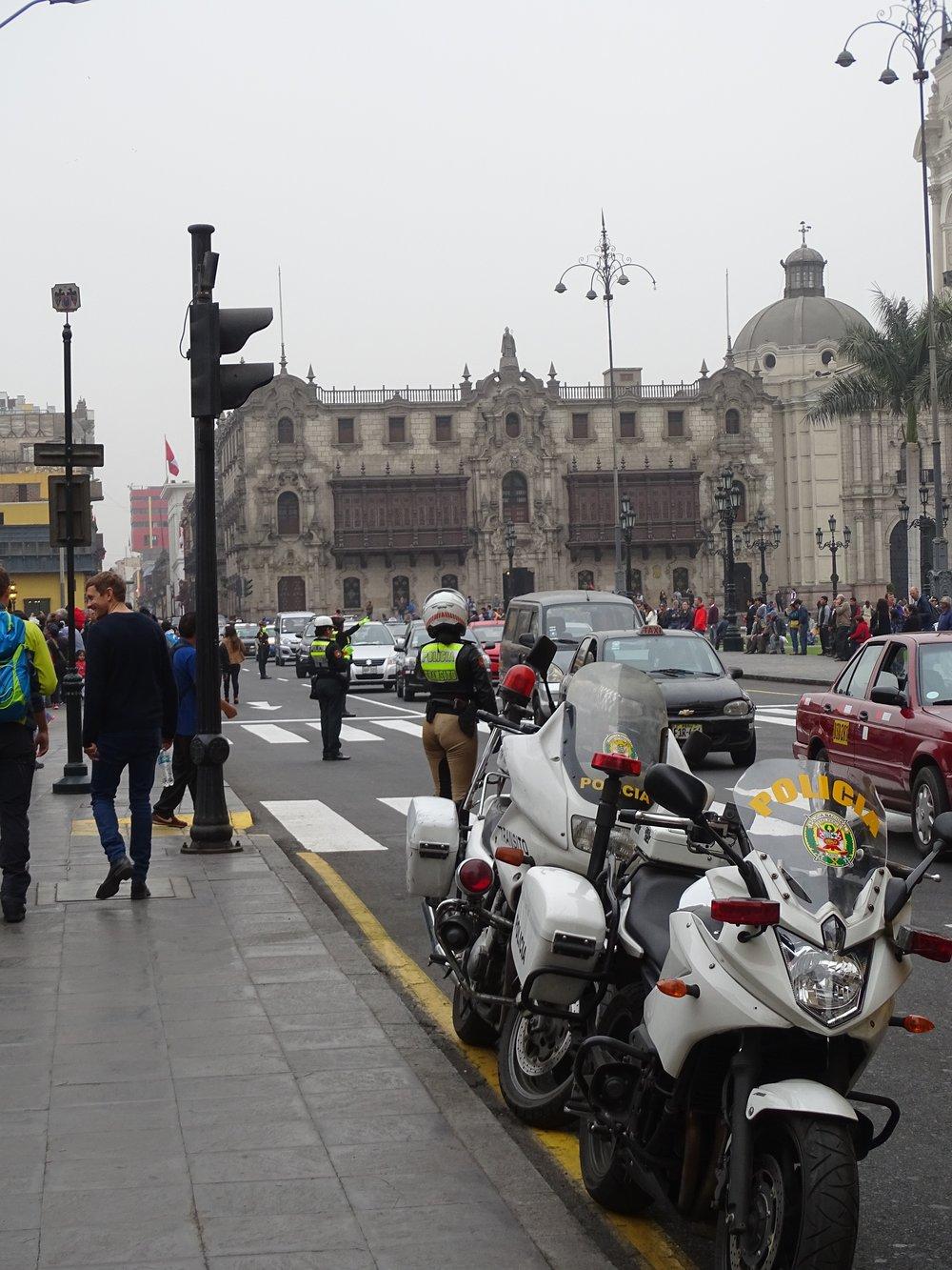Moto-policia.