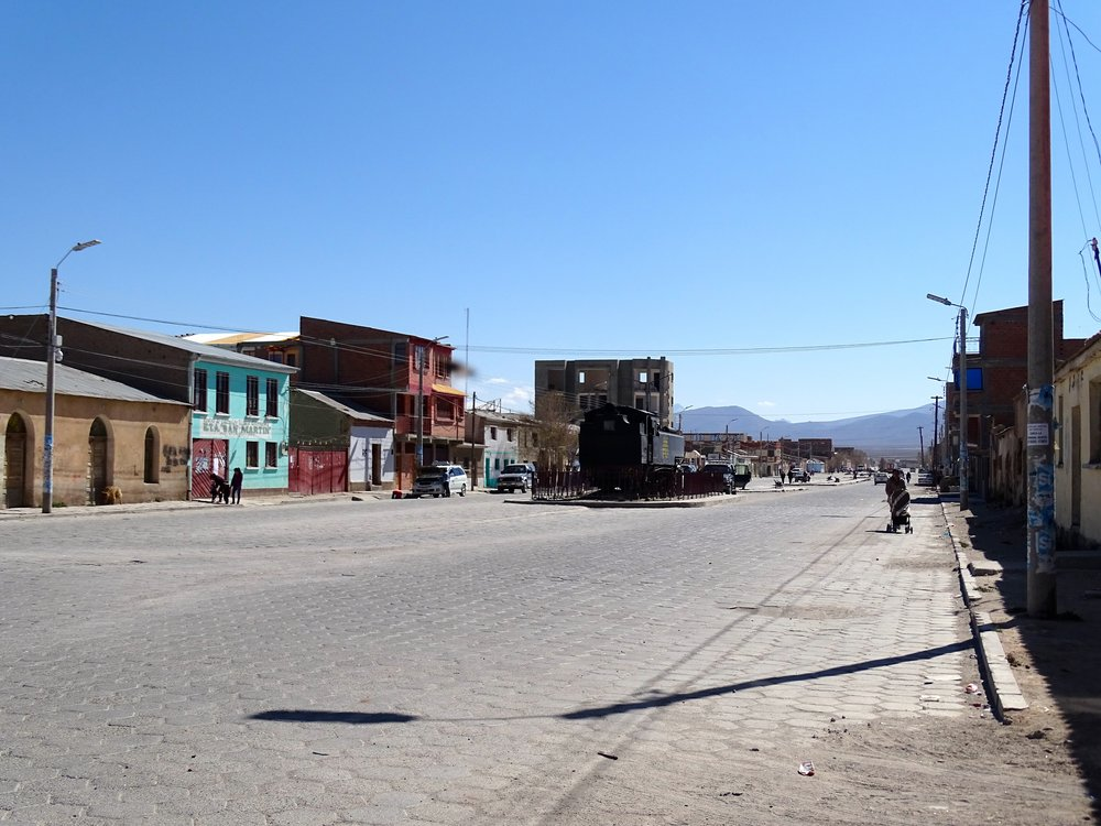 Welcome to the town of Uyuni.