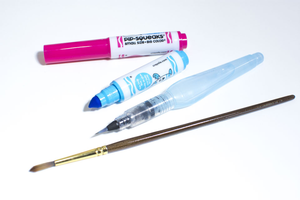 Get a watercolor effect using crayola markers u2014 twoeasels