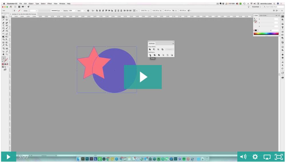 Illustrator pathfinder explained plus a pdf print
