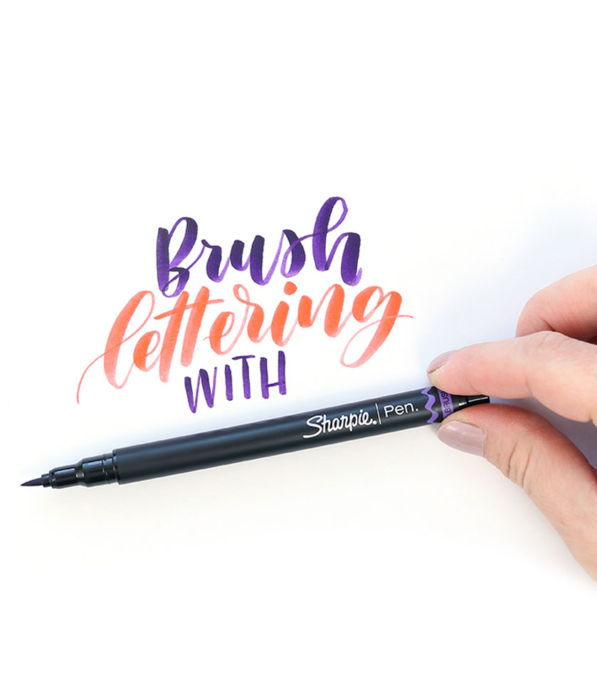 New sharpie brush pens! Perfect for brush lettering or calligraphy. Grab them now! And watch this review.
