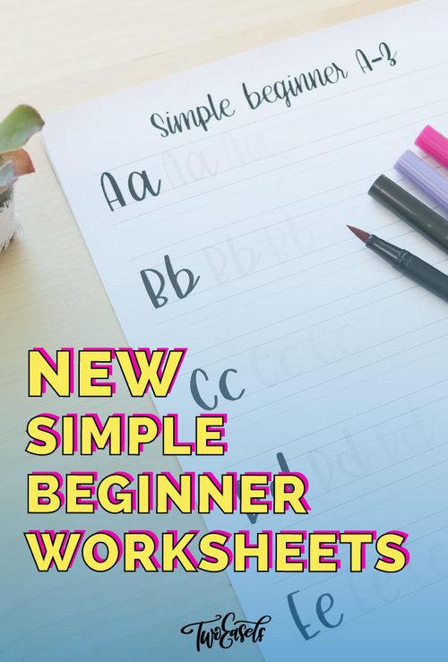 simple beginner worksheets