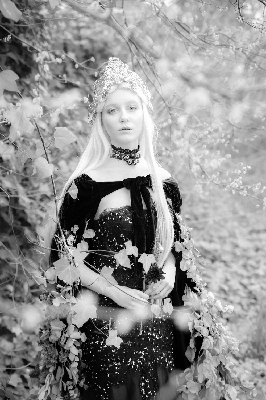 Photographer: Ramesh Bance  Model: Lulu Lockhart  Concept/Stylist Bella Kotak Photography   Makeup: Lydia Pankurst