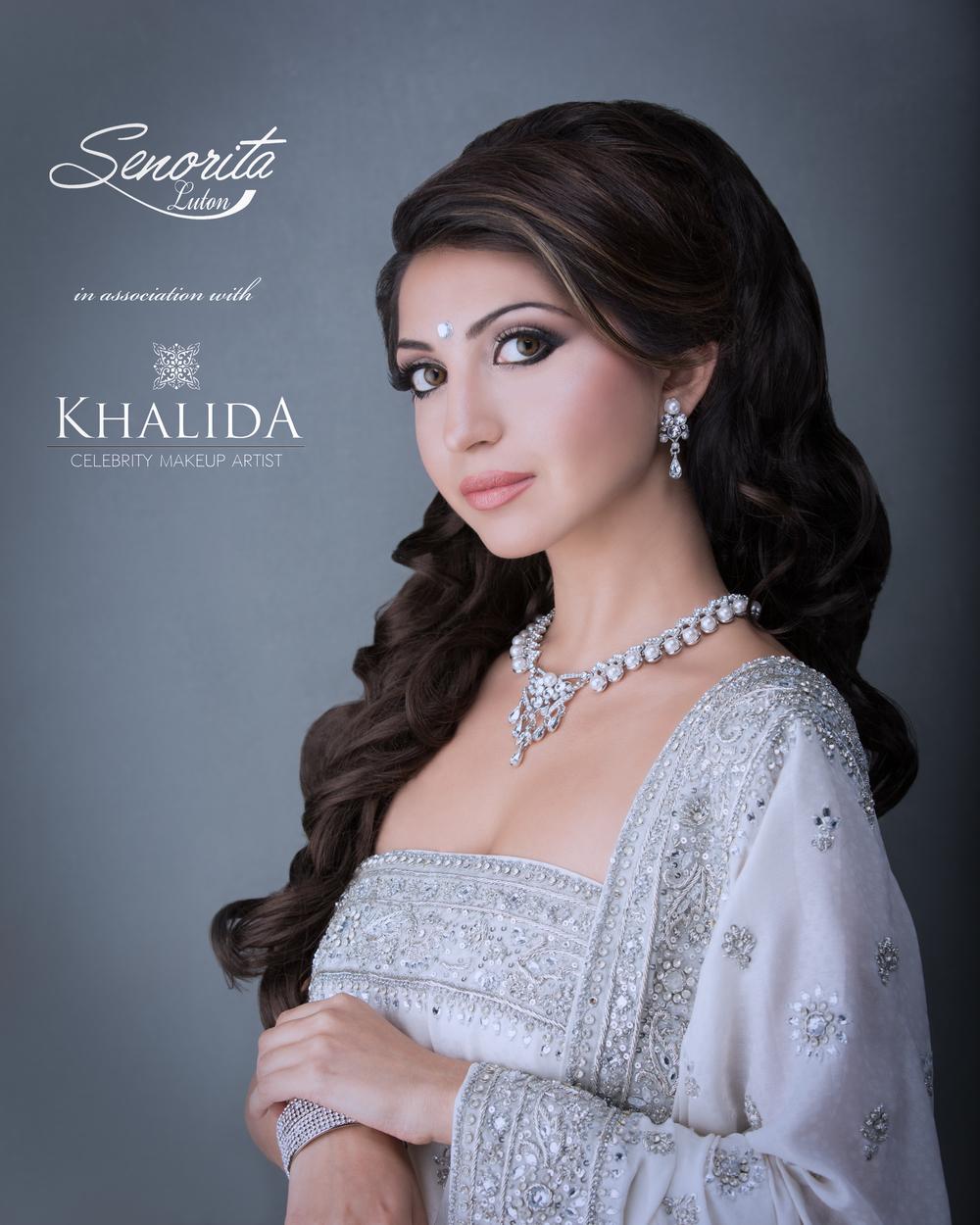 Model: Priyanka  Makeup: Khalida Makeup Artist  Client: Seno Rita (Senorita)  Stylist: Haroon