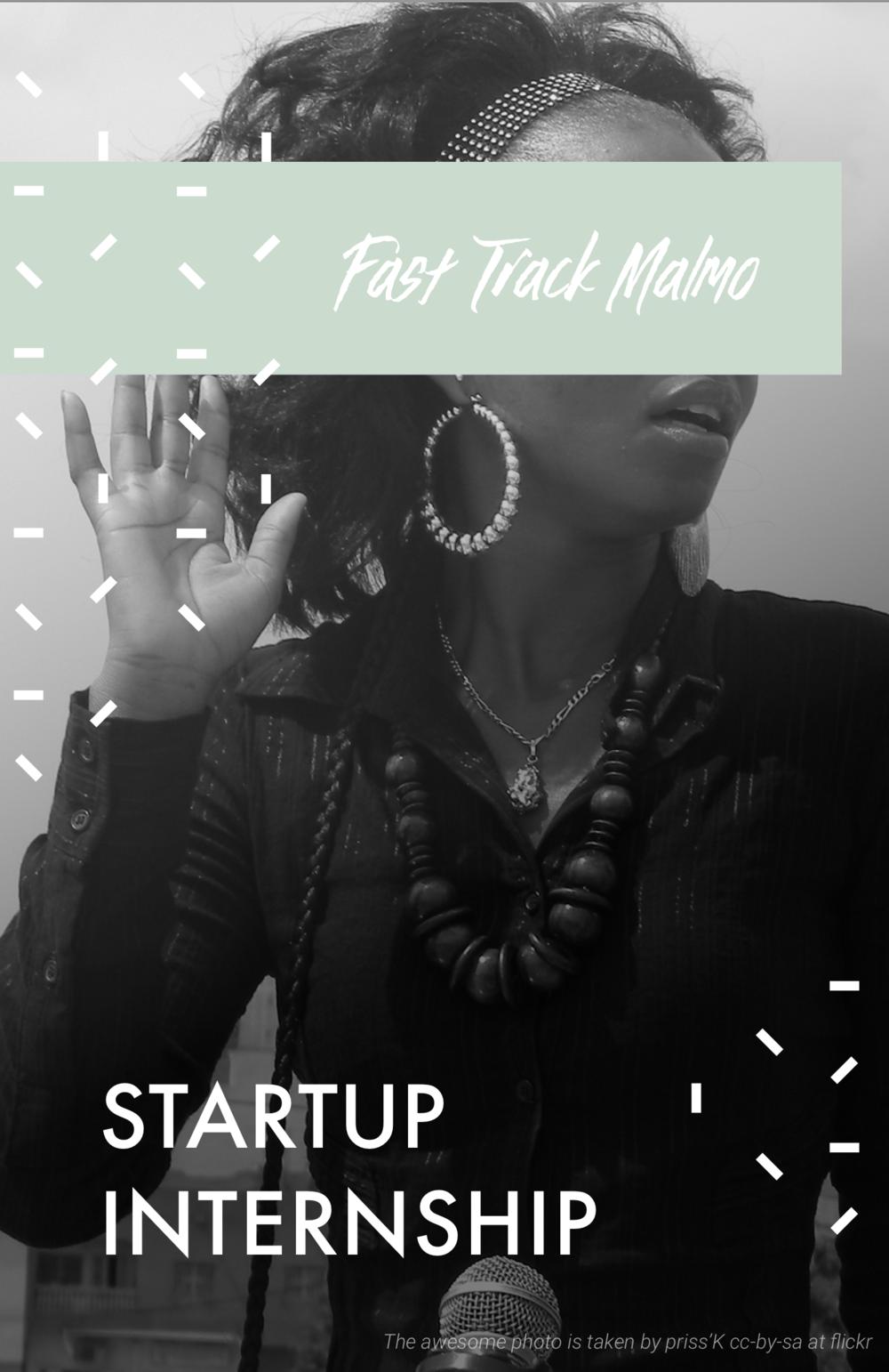 Fast Track Malmö - Intern Ad - Startup Internship.png