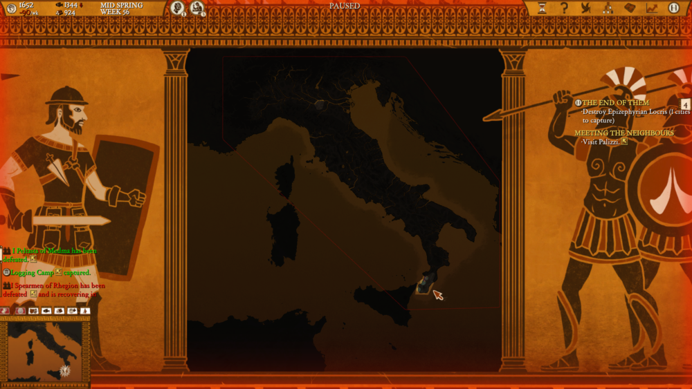 Hey, I can see my house from here! Oh, and also ALL OF ITALY.