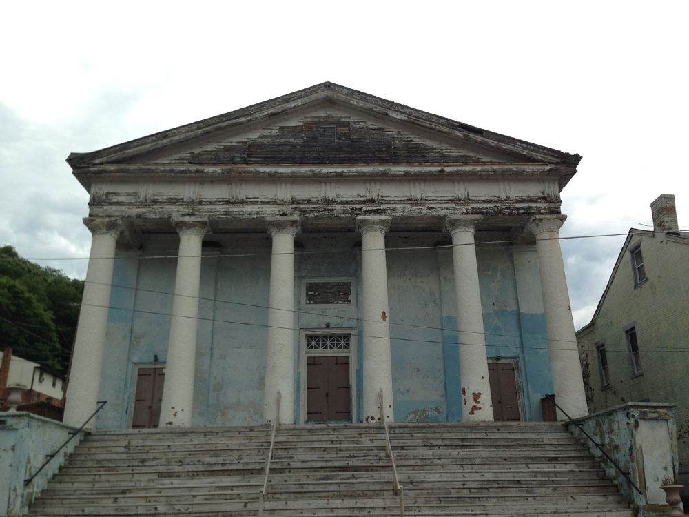 The Blue Church in East Wheeling could become one of the leading performing arts venues in the Ohio Valley, but the old building needs lots of work.
