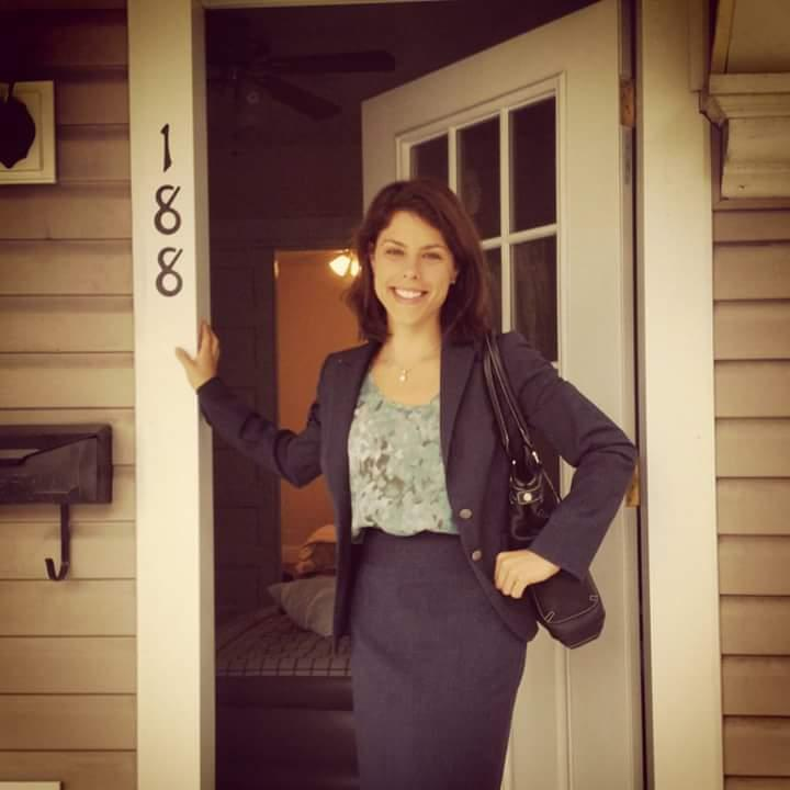 Rachel Weinberger, a young attorney from New York, recently completed a two-year job in Wheeling.