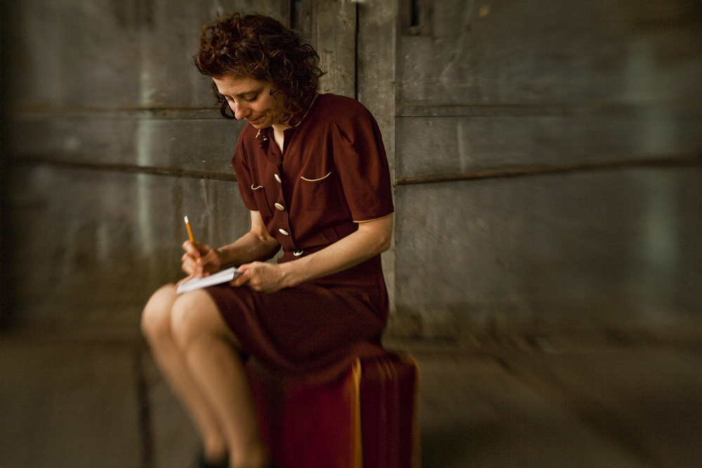 Etty, a play based on the diaries of a young Dutch Jewish woman as she prepared for deportation to the death camps, will be performed Sunday, Nov. 8, at St. Michael's Church. (Ricardo Barros photo)